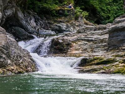 Шешорські сріблясті водоспади